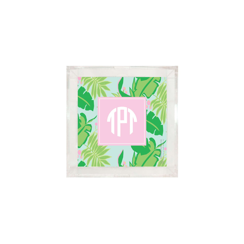 Weezie B. Designs |Bright & Tropical Acrylic Tray Insert