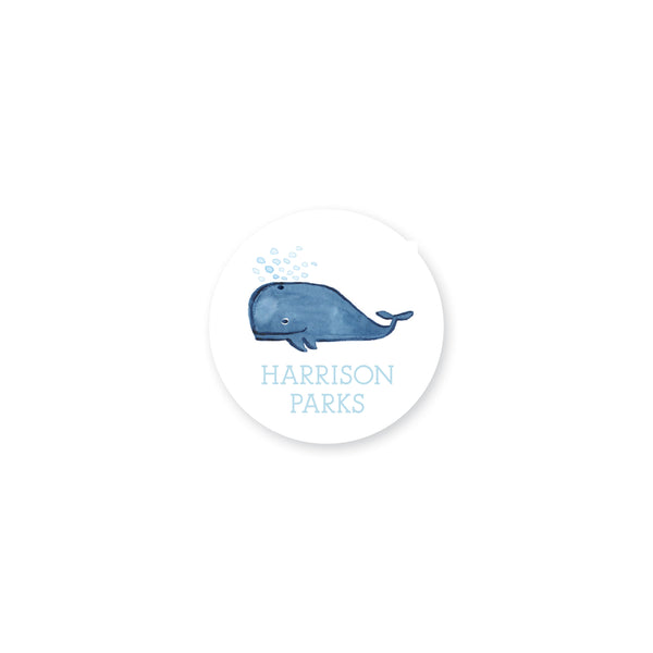 Weezie B. Designs | Whale Bag Tag