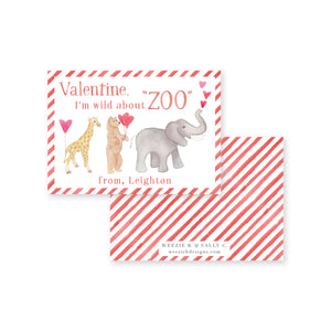 Wild About Zoo Valentine