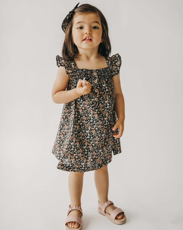 Kennedy Dress - Luca Floral - WildLittleFawns