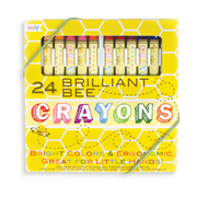 Brillant Bee Crayons 24 pk