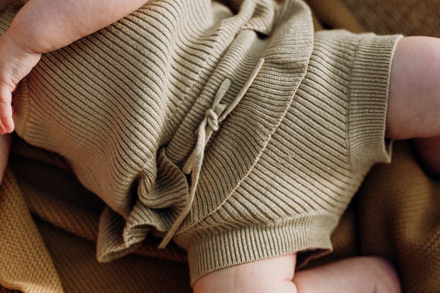 Ribbed Frill Bloomers - Goldie