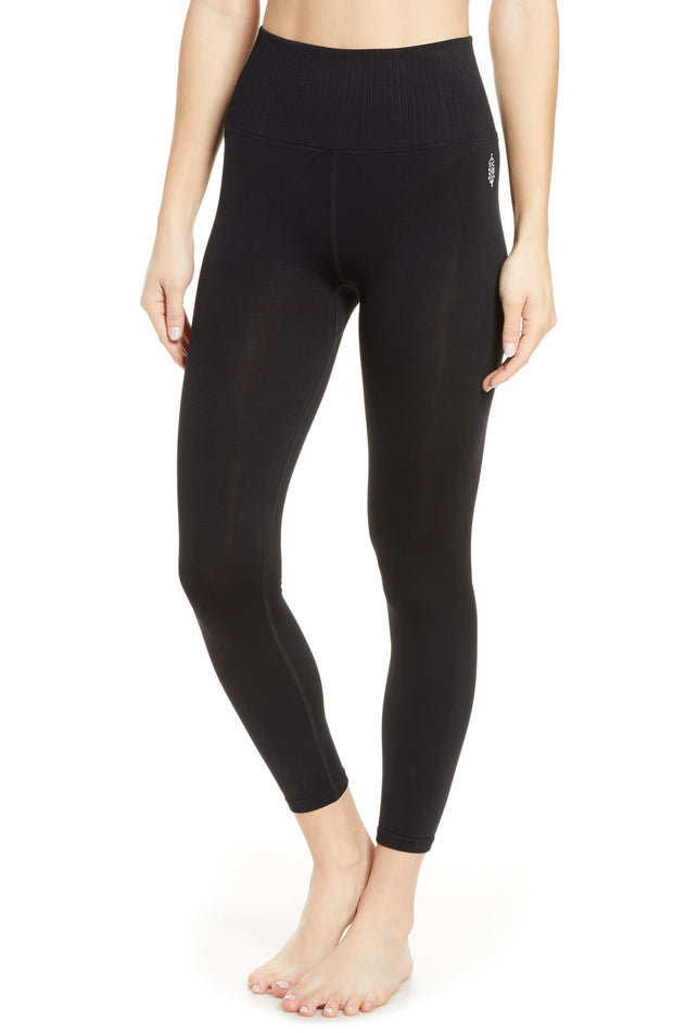 GOOD KARMA LEGGING / SOLID BLACK Free People