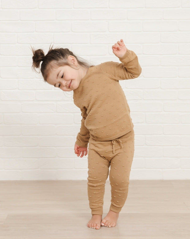 Quincy Mae Knit Pant - Honey