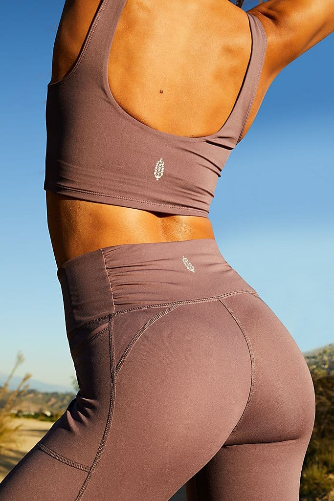 Breathe Easy Leggings in KALAMATA - WildLittleFawns