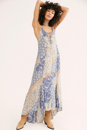Work Of Art Printed Maxi Slip - WildLittleFawns
