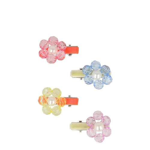 Flower Jewel Hair Clip - WildLittleFawns