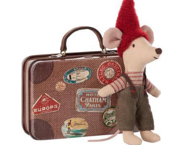 Christmas Mouse Travel Suitcase - Maileg