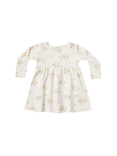 Baby Dress - Ivory - WildLittleFawns