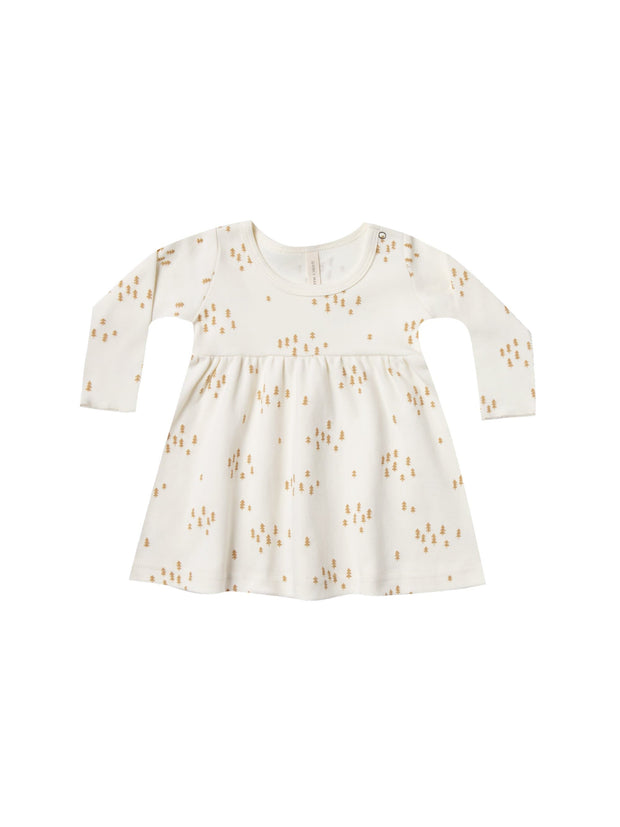 Baby Dress - Ivory Quincy Mae