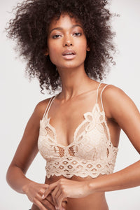 FP One Adella Bralette in Nude - WildLittleFawns