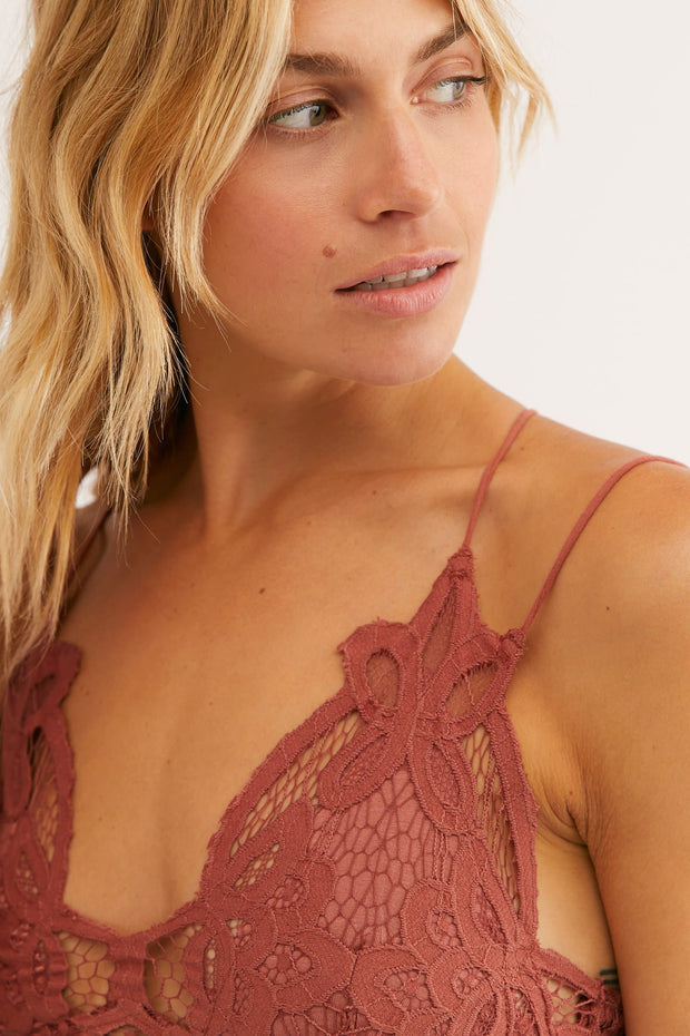 FP One Adella Bralette in Copper Free People