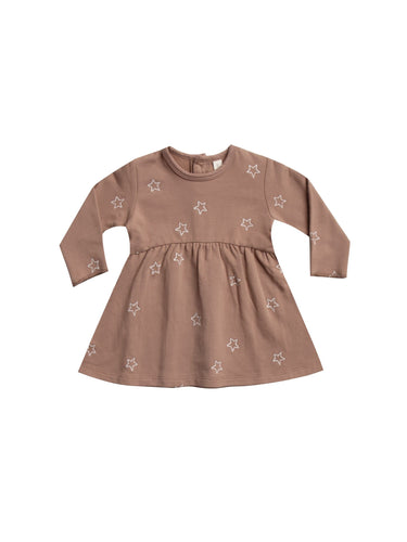 Fleece Dress- Clay - WildLittleFawns