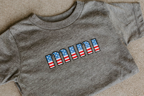 4th of July Mini Tee - WildLittleFawns