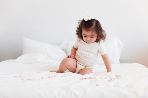Sister Short Sleeve Onesie - WildLittleFawns