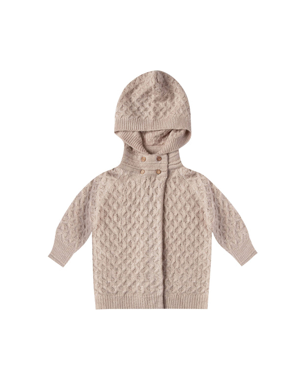 Baby Sweater Coat - Oat Rylee & Cru