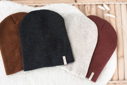 Knit Beanies - WildLittleFawns