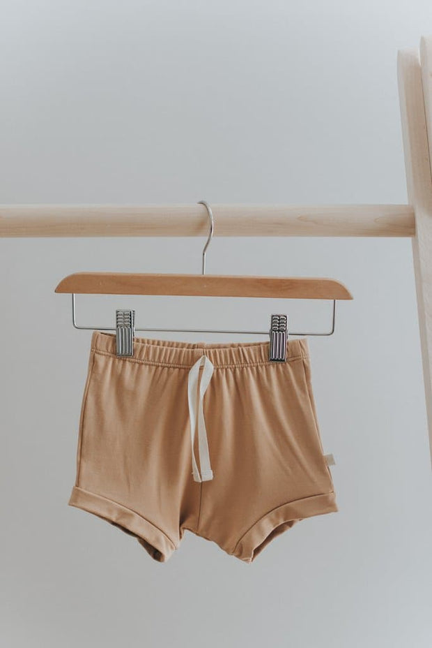 Vintage Shorts in Caramel - WildLittleFawns