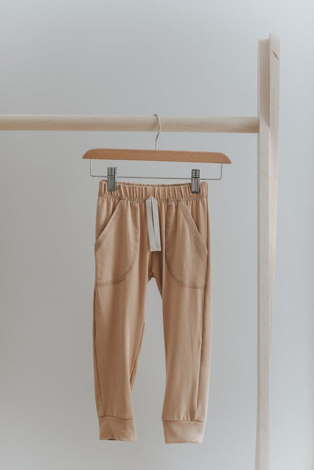 Lounge Pants in Caramel - WildLittleFawns