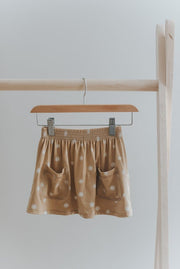 Pocket Skirt in Speckled Sun - WildLittleFawns