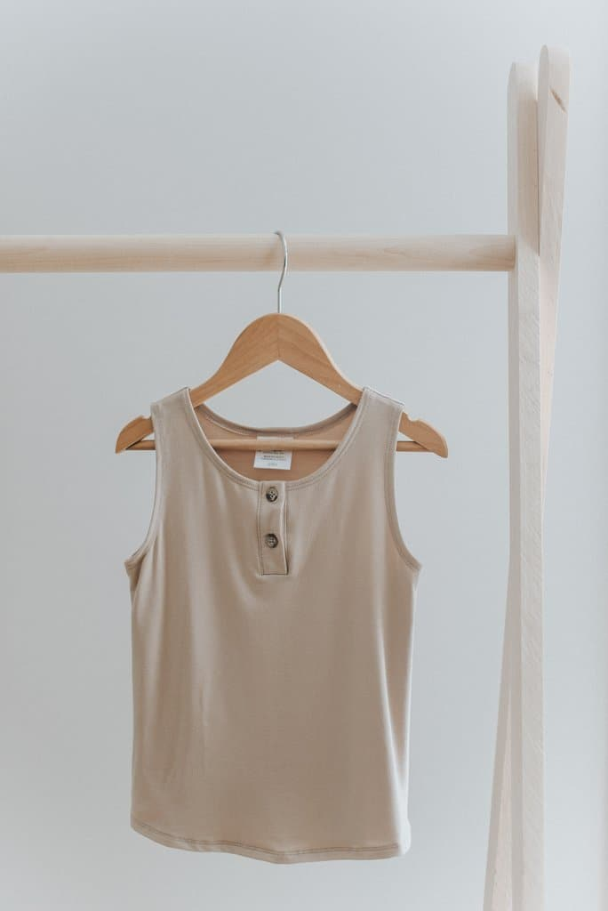 Tank Top in Tan - WildLittleFawns