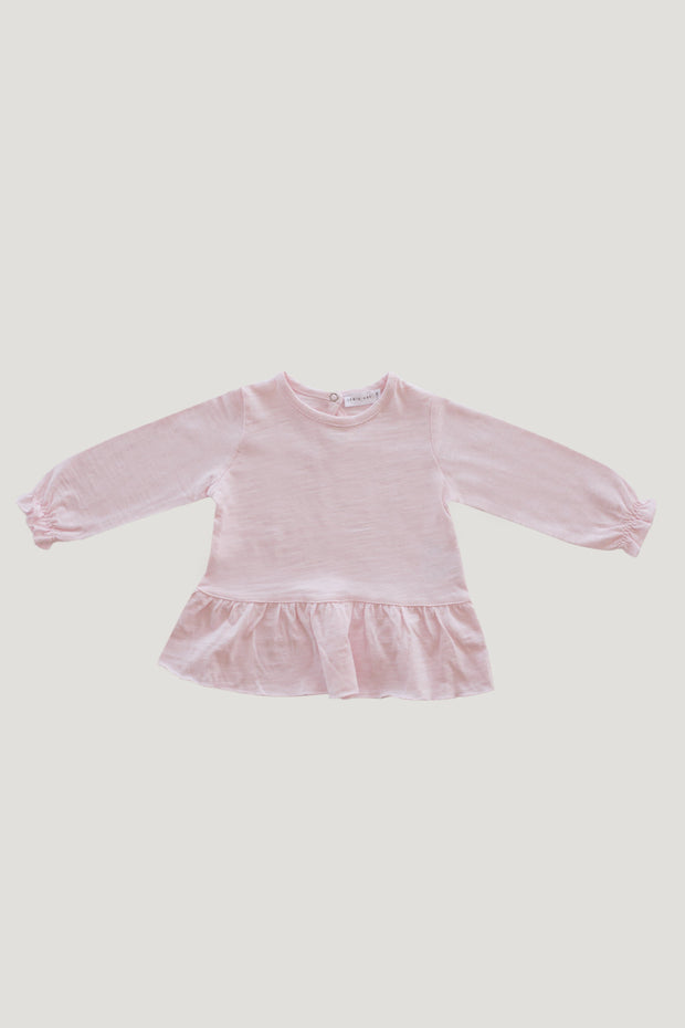 Slub Cotton Bailey Top in Sugar Plum - WildLittleFawns