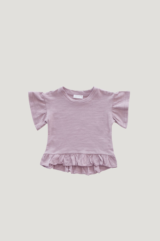 Slub Cotton Eden Top in Odessa - WildLittleFawns