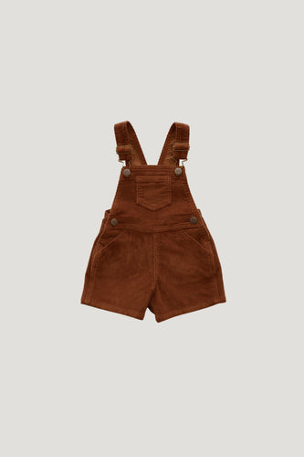 Reign Short Overall in Gingerbread - WildLittleFawns