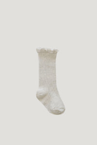Frill Socks - Oatmeal - WildLittleFawns