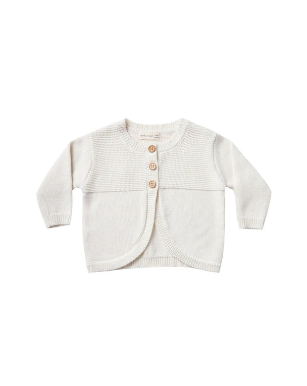 Knit Cardigan - Ivory | Quincy Mae AW20 Drop 1