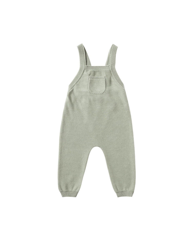 Knit Overall Sage - Quincy Mae - AW 20 Drop 1