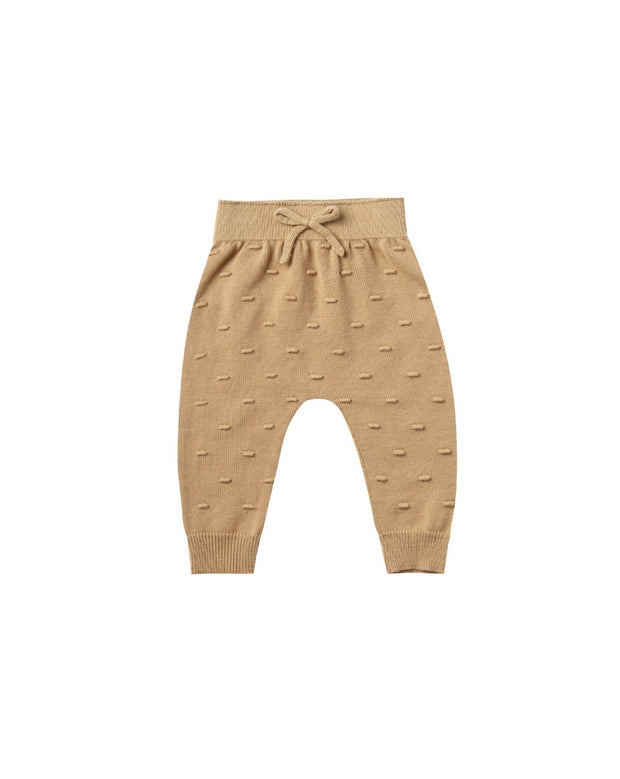 Quincy Mae drawstring soft pants for babies made with 100% organic cotton