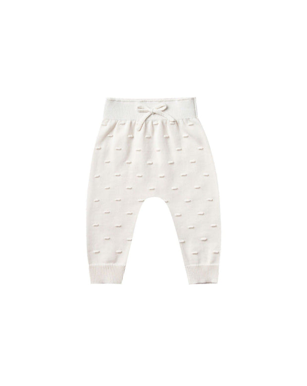 Quincy Mae OrganicCotton Knit Pants for Babies