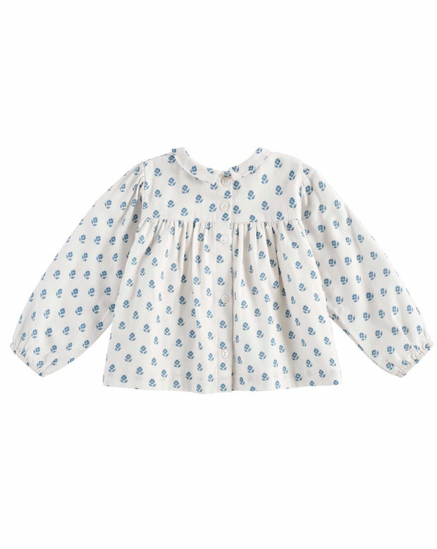 Emma Blouse Upsy Daisy Floral - Little Cotton Clothes