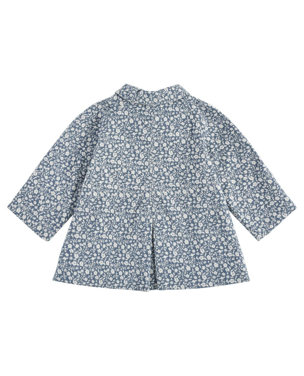 Sophie Jacket Brushed Cotton - Blue