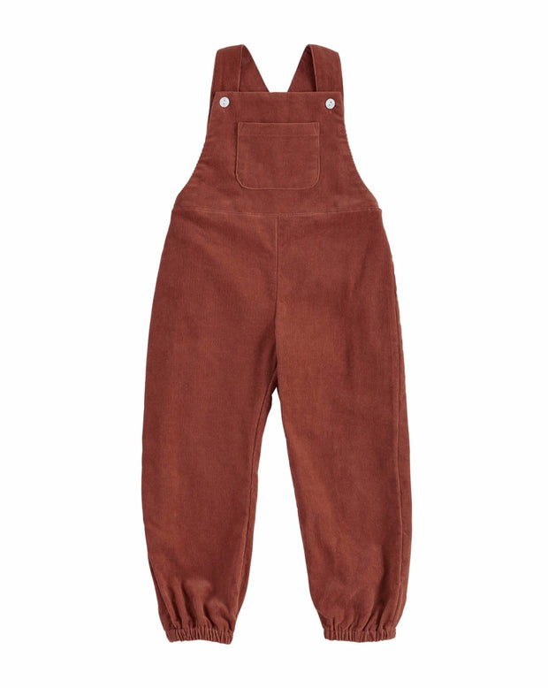 Falmouth Dungarees Clay Corduroy - Little Cotton Clothes