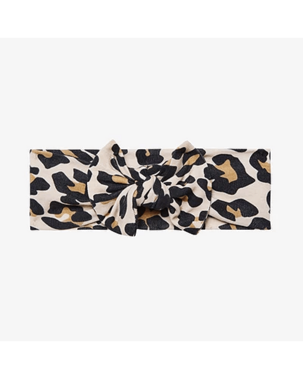Lana Leopard Tan Headwrap