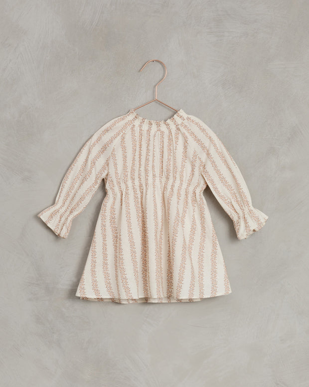 Chloe Dress | Rose Stripe