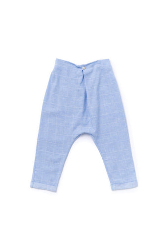 OMAMImini Drop Crotch Pleated Trouser - WildLittleFawns
