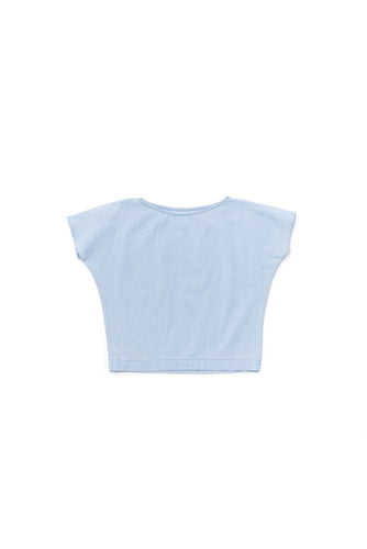 OMAMImini Chambray Dolman Sleeve Top - WildLittleFawns