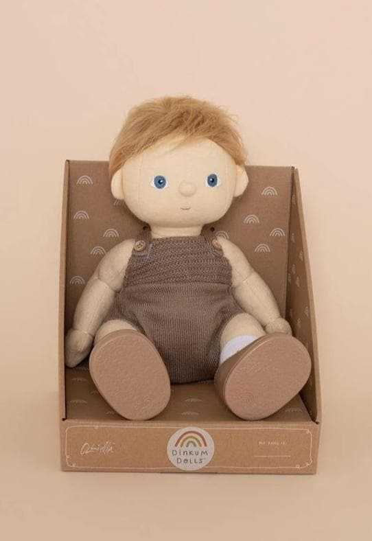 Olli Ella Dinkum Doll, Poppet | Gender Neutral Dolls