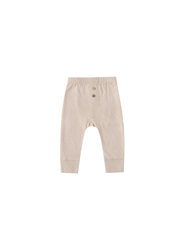Pointelle Pajama Pant in Petal - WildLittleFawns