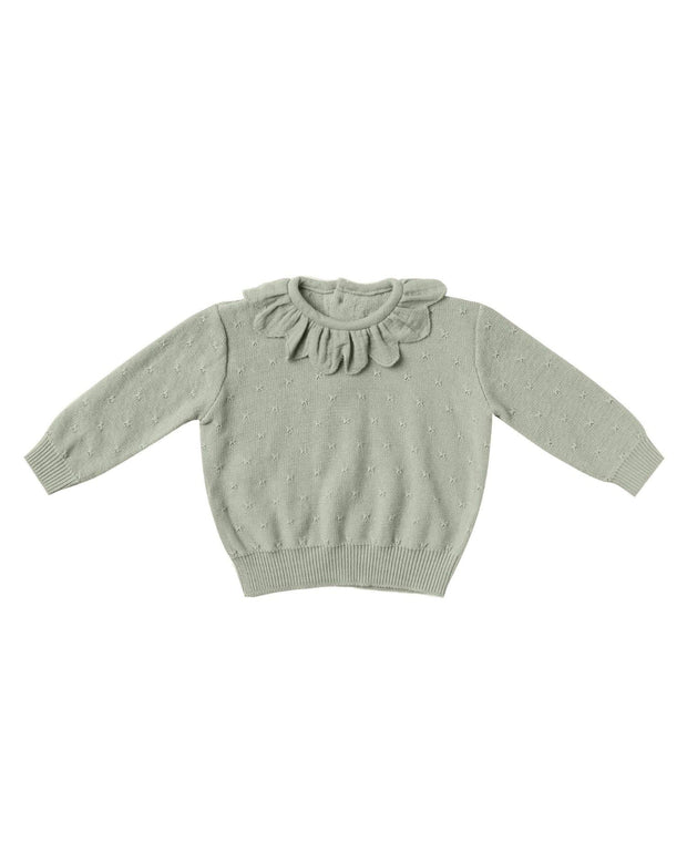 Petal Knit Sweater | Quincy Mae AW20 Drop 1