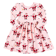 Steph Dress Strawberry and Cream Santas Pink Chicken