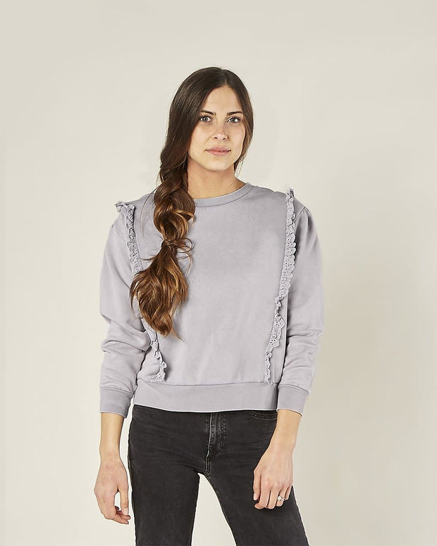 Scarlette Pullover - Periwinkle