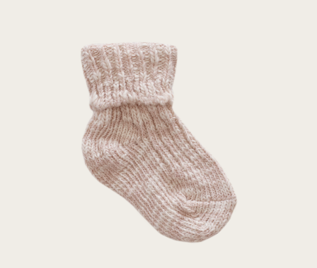 Marle Sock - Rose Dust - WildLittleFawns