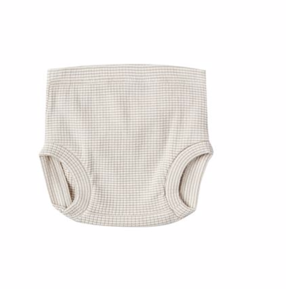 Ribbed Bloomers in Fog Stripe - WildLittleFawns