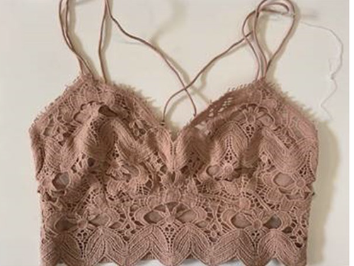 FP One Ilektra Bralette in Rose - WildLittleFawns