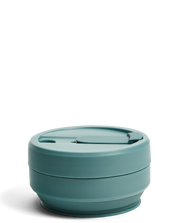 Stojo 16oz Biggie Cup - Aquamarine - WildLittleFawns