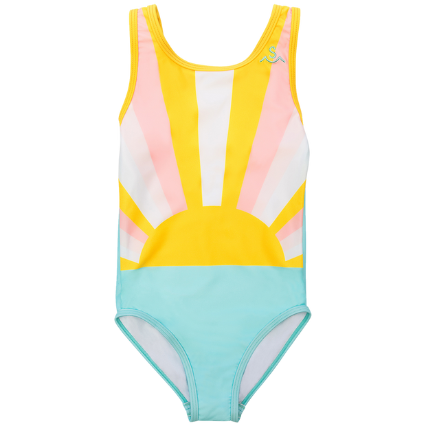 "TINY WHALES X SEAESTA SURF COLAB ""SUN CHILD"" SWIMSUIT LIMITED EDITION - WildLittleFawns"